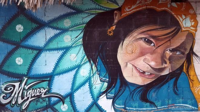 Murals in Tulum - Mexico