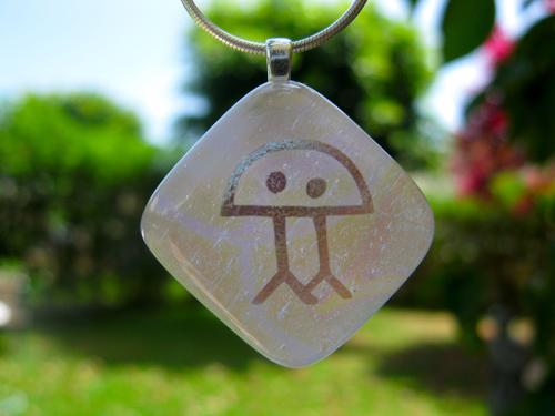 Dichroic Glass Eternity gift