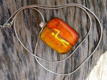 Guardian dichroic glass gift