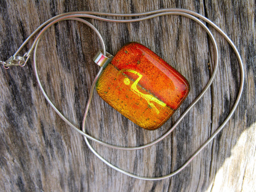 Guardian dichroic glass gift