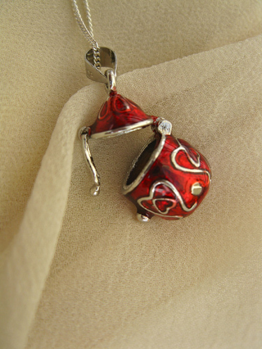 Wish box necklace