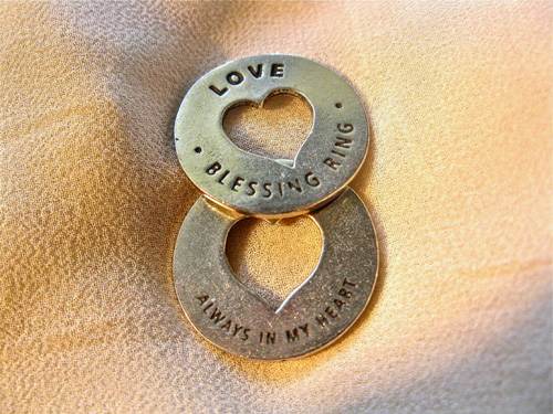 Love blessing ring