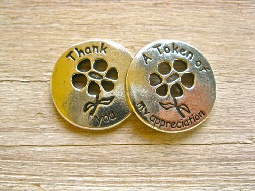 Thank you token