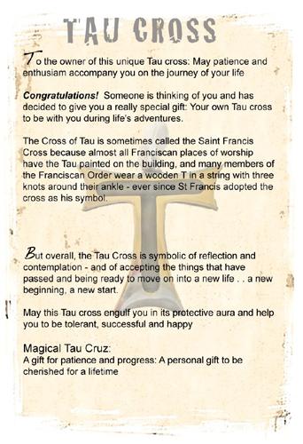 Tau Cross meaning