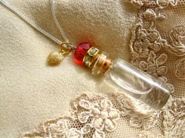 Lourdes necklace water get well