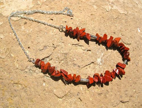 Red Jasper necklace gift
