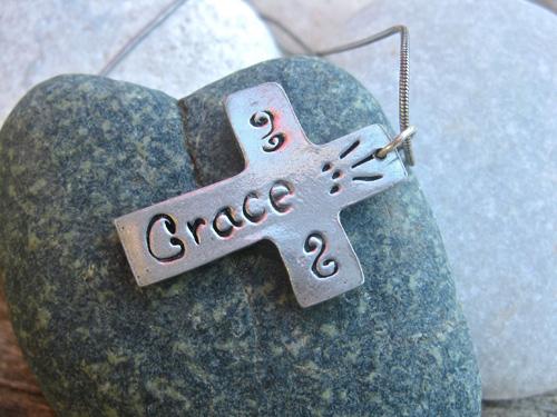 Cross of Grace necklace