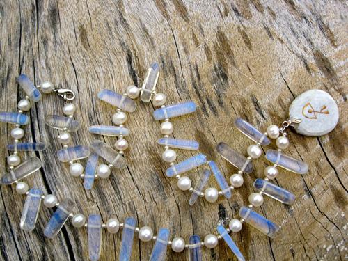 Moonstone Dreams necklace