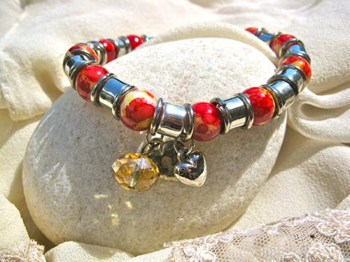 Inspirational love bracelet