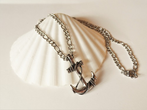 Anchor necklace gifts hope