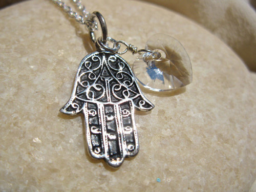 Hamsa necklace gift for health