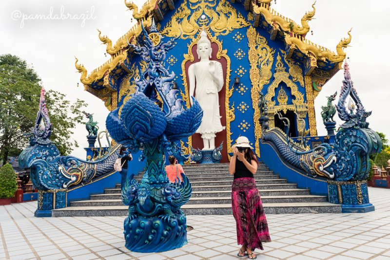 Chiang Rai - Blue Temple 01