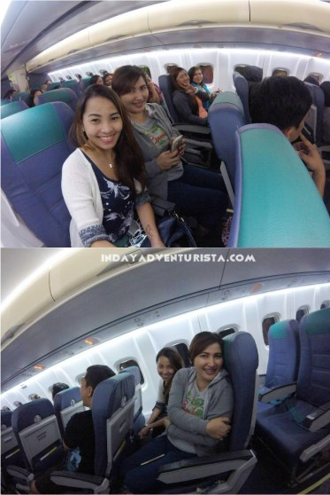aboard the plane from CBU to CDO