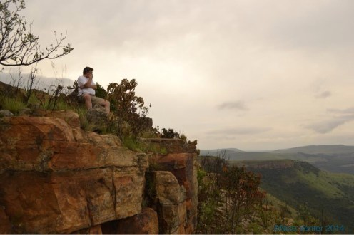Taking in the view. :) Photo by Nico Venter, all rights reserved.