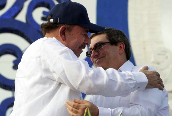 Cuban Foreign Minister Supports Call for Peace and Condemns Terrorist Acts in Nicaragua