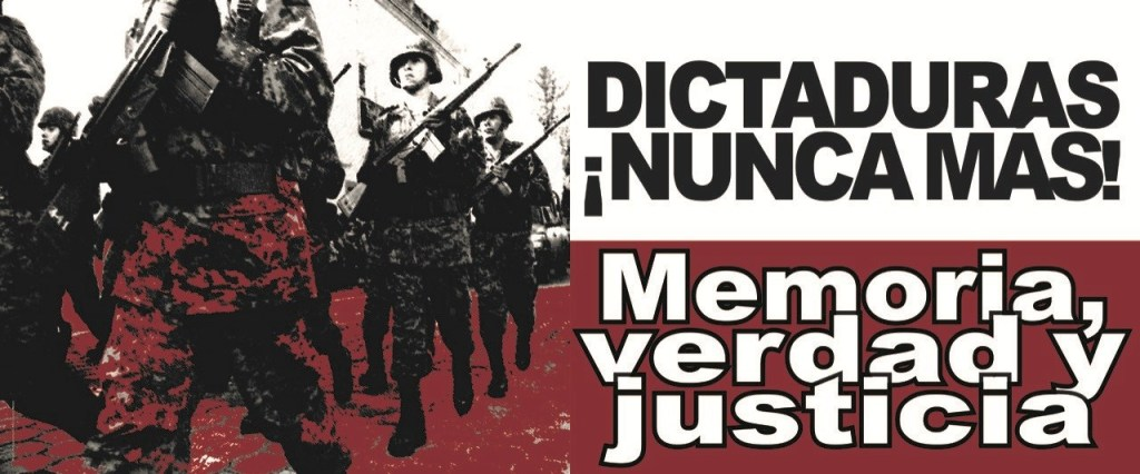 Dictatorships Never Again!