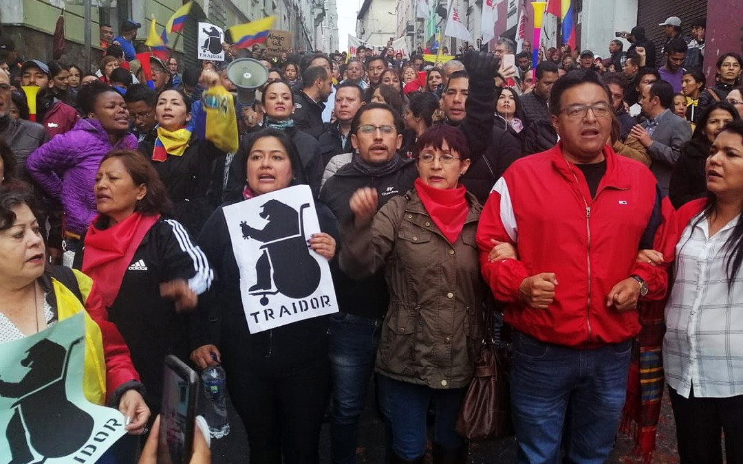 Alert on Human Rights Violations in Ecuador/ II