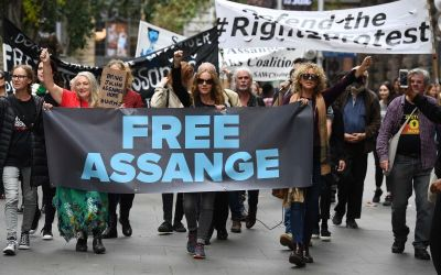 FREEDOM FOR JULIAN ASSANGE