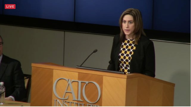 "Christina Sandefur at Cato Institute's ""Overturning the FDA Gag Rule"" event"