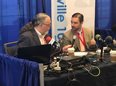 Jonathan Butcher journalists at CPAC