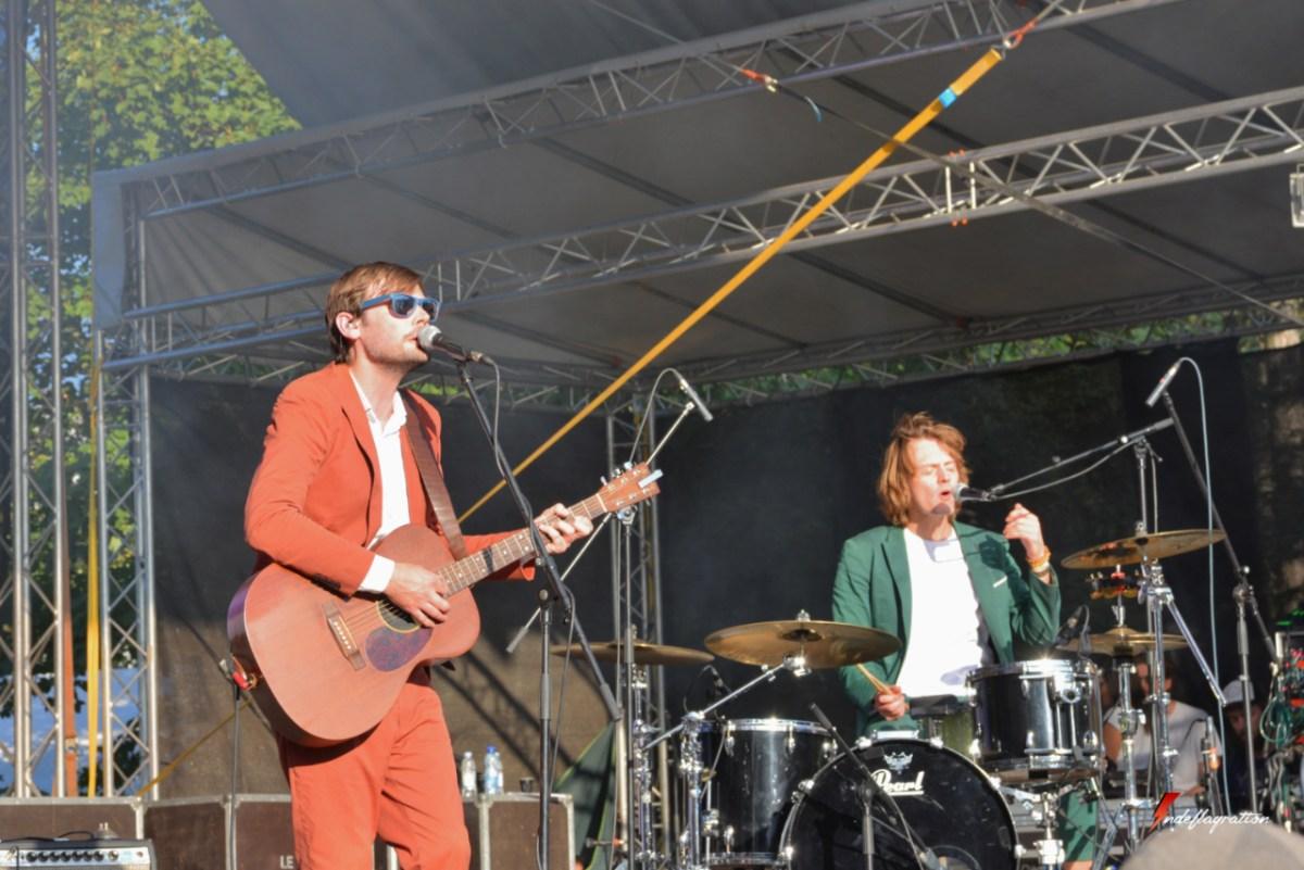 Interview - Puggy au Sziget Festival : Belgique, Phoenix et vestes dépareillées