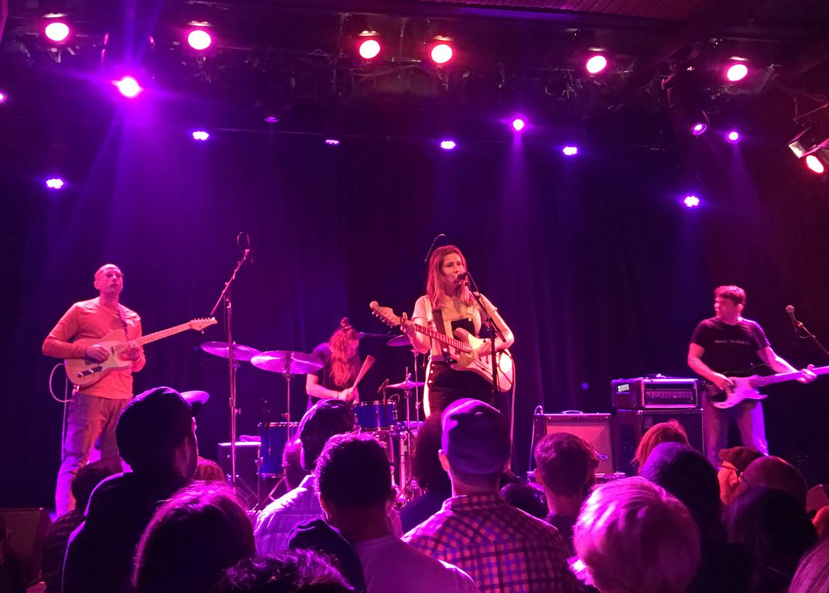 Middle Kids playing live at The Independent San Francisco in 2017 during their US Tour - Australia - Never Start Edge Of Town