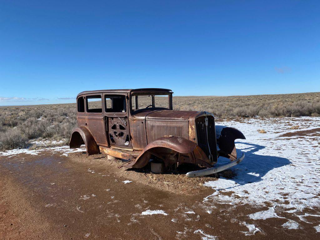 Deserted 1928 Studebaker