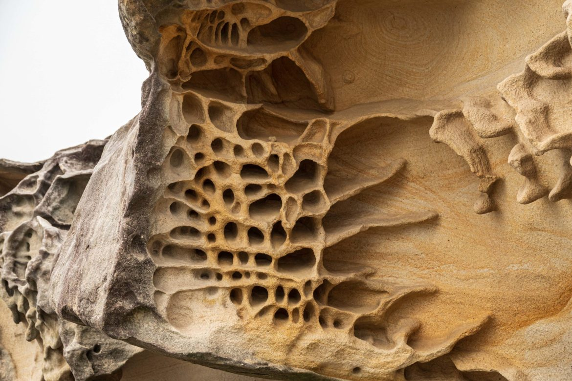 Natural sandstone art