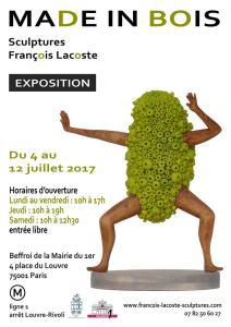 Exposition de François Lacoste