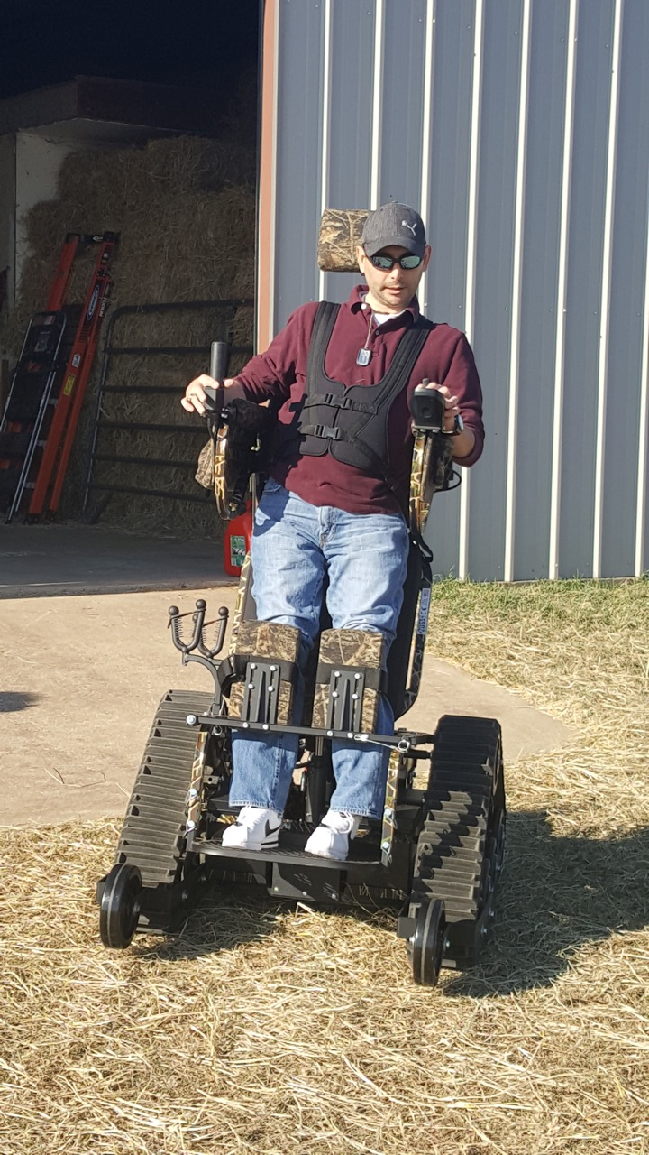 Cpl Alan Babin, USA, Ret. In his 2016 Track Chair