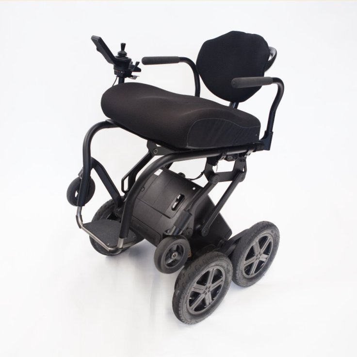 iBot small seat with four wheels on ground