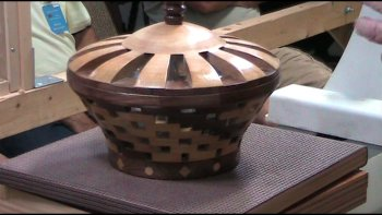 Open segmented bowl by Gale Markley