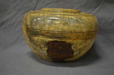 Spalted maple vessel by Don Bird