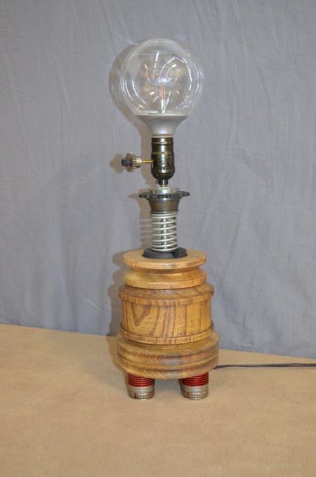 Steampunk lamp by Ron Bruno