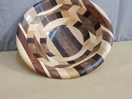 Show & Tell bowl from a board by Leonard Pearce