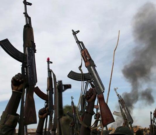 South Sudan forces