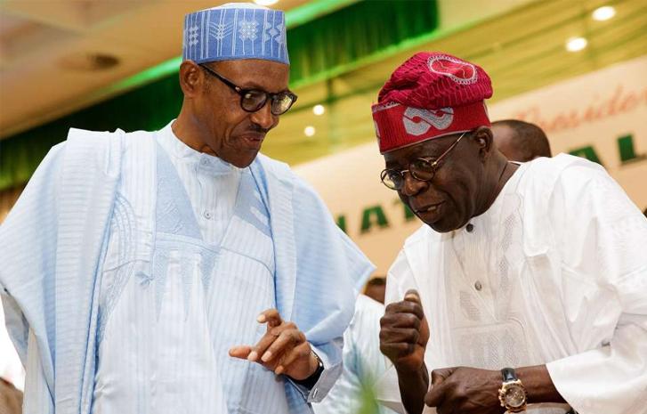 Image result for , Buhari charges Tinubu