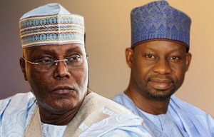 Image result for 2019: Atiku, Dankwambo discuss prospects of working together