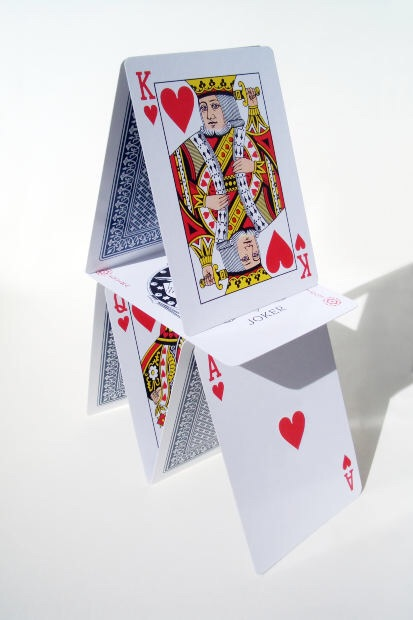 Is the next house of cards getting ready to fall?