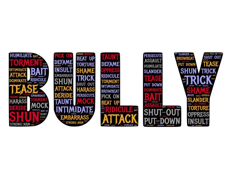 BULLY word graphic