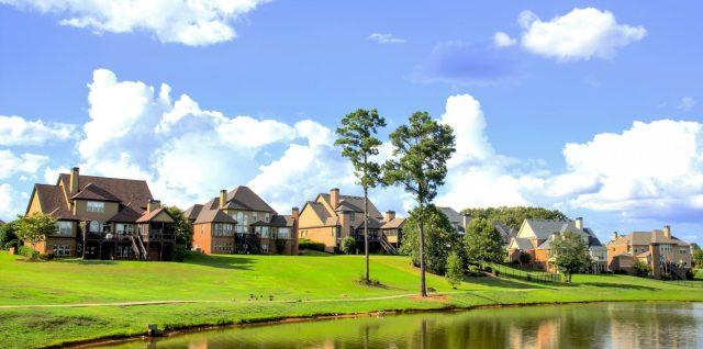 estate homes houses for sale pond lake