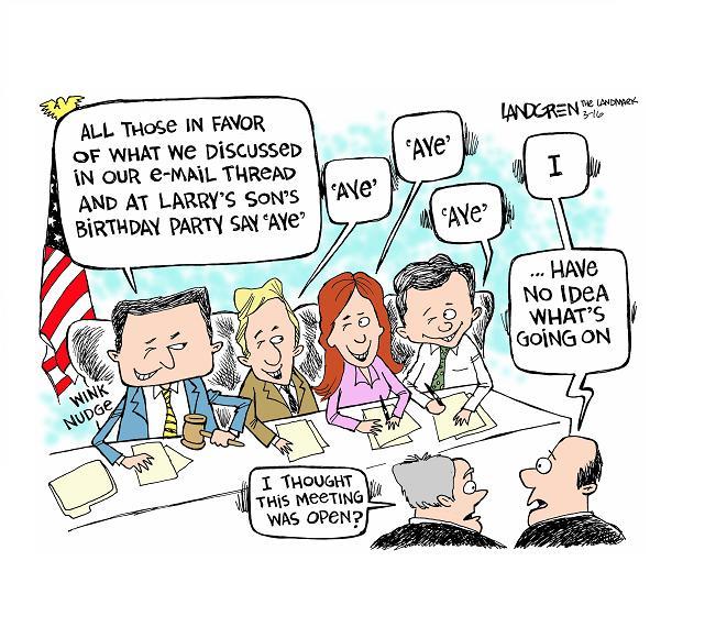 Board meeting HOA cartoon