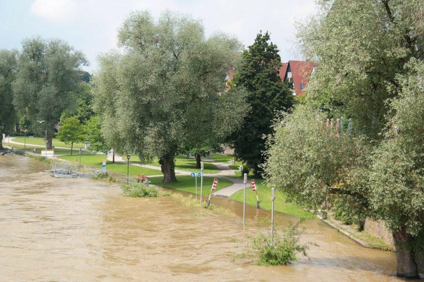 HOA single family road flood