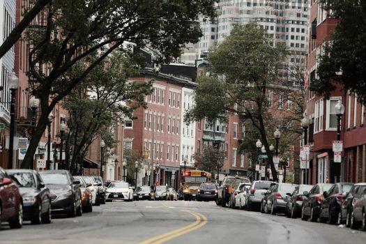 Boston urban density mixed use condos