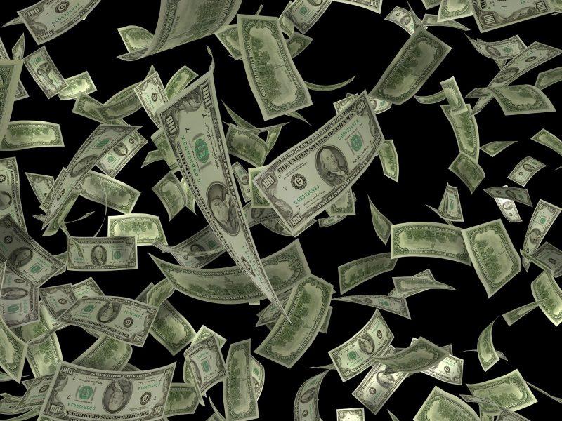 Money $100 bills