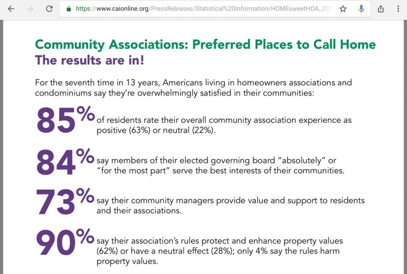 CAI boasts statistics survey 2018