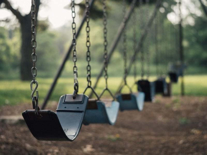 Swings-playground-children