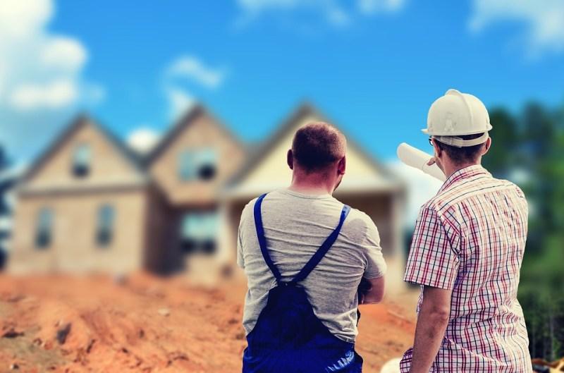 Builders construction workers