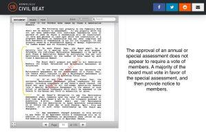 Governing documents of Launani Valley Community Association
