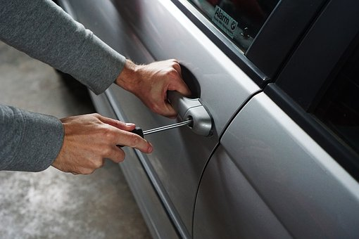 Security car vehicle theft break in